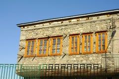 Een Oud Huis in Erzurum Royalty-vrije Stock Afbeeldingen