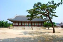 Het paleis van Gyeongbuk, Seoel, Zuid-Korea Royalty-vrije Stock Foto