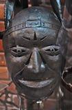 Een oud ijzermasker Stock Afbeelding