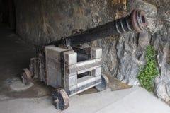 Een oud kanon Royalty-vrije Stock Foto