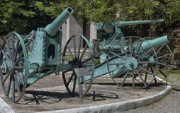 Een oud kanon in het Museum Royalty-vrije Stock Foto's