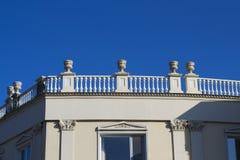 Een oud terras Royalty-vrije Stock Afbeelding