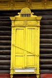 Een oud venster stock fotografie