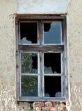Een oud venster royalty-vrije stock afbeelding