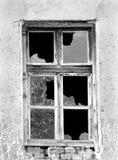 Een oud venster Stock Foto's