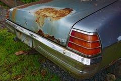 Een oude auto stock foto