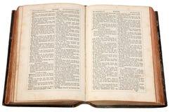 Een oude bijbel. Royalty-vrije Stock Foto