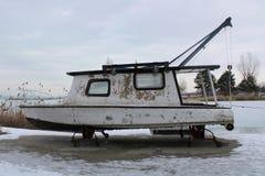 Een oude boot stock fotografie