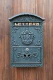 Een oude brievenbus Stock Afbeelding