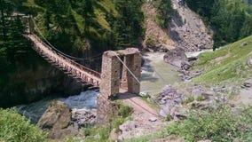 Een oude brug Stock Foto