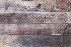 Een oude bruine houten textuur Royalty-vrije Stock Fotografie