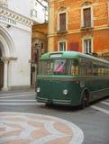 Een oude bus Stock Fotografie