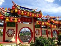 Een oude Chinese tempel Royalty-vrije Stock Afbeeldingen