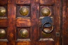 Een oude deur Royalty-vrije Stock Afbeelding