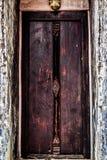Een Oude Deur Stock Afbeeldingen