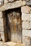 Een Oude Deur in Chaves, Portugal royalty-vrije stock foto's