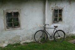 Een oude fiets Royalty-vrije Stock Fotografie