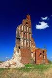 Een oude geruïneerde kerk Royalty-vrije Stock Foto