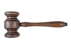 Een oude houten hamer. Royalty-vrije Stock Fotografie