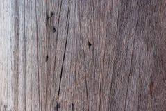 Een oude houten pijler Royalty-vrije Stock Foto's
