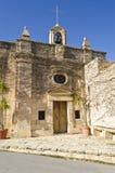 Een oude kerk in het platteland in Malta Royalty-vrije Stock Afbeeldingen