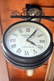 Een oude klok Stock Fotografie