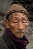 Een oude mens Stock Foto