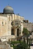 Een oude moskee in Jerusale, Israël Royalty-vrije Stock Afbeeldingen