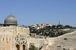Een oude moskee in Jerusale, Israël Royalty-vrije Stock Foto