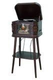 Een oude platenspeler Stock Afbeeldingen