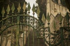 Een oude poort Royalty-vrije Stock Foto