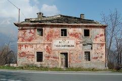 Een oude ruïne stock fotografie