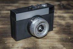 Een oude Russische filmcamera stock foto