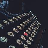 Een oude schrijfmachine stock foto's