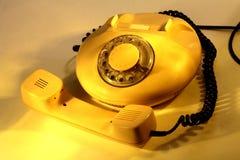 Een oude telefoon Stock Foto