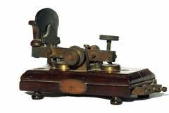 Een oude telegraaf stock fotografie
