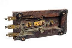 Een oude telegraaf royalty-vrije stock afbeelding
