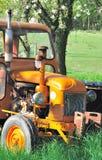Een oude tractor Royalty-vrije Stock Afbeelding
