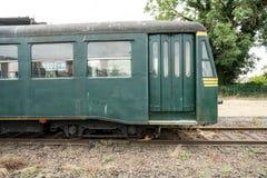 Een oude trein stock afbeeldingen