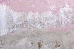 Een oude verkleurde muur Stock Afbeeldingen