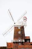 Een oude windmolen Stock Foto's