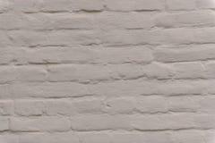 Een Oude Witte Bakstenen muur Royalty-vrije Stock Afbeeldingen