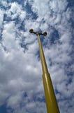 Een ouderwetse lantaarn. Stock Foto