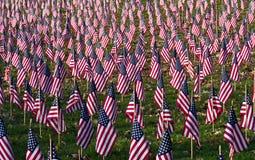 Een overvloed Vlaggen Stock Foto