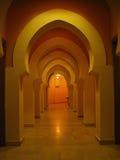 Een overwelfde galerij in Tunis Stock Fotografie