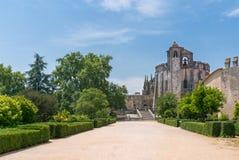 Een overzicht van het Klooster van Christus Royalty-vrije Stock Foto