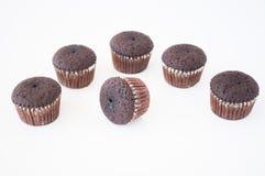 Een paar heerlijke cupcakes Royalty-vrije Stock Foto