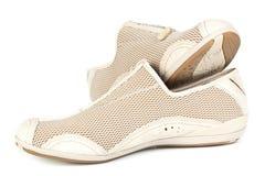 Een paar van het aanstoten van schoenen Royalty-vrije Stock Afbeelding