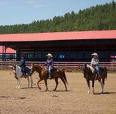 Een paardgebeurtenis voor kinderen bij pagosa springt op Stock Foto