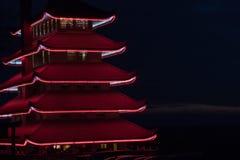 Een pagode in Lezing, Pennsylvania Royalty-vrije Stock Fotografie